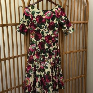 NWOT Floral The Pretty Dress Company dress